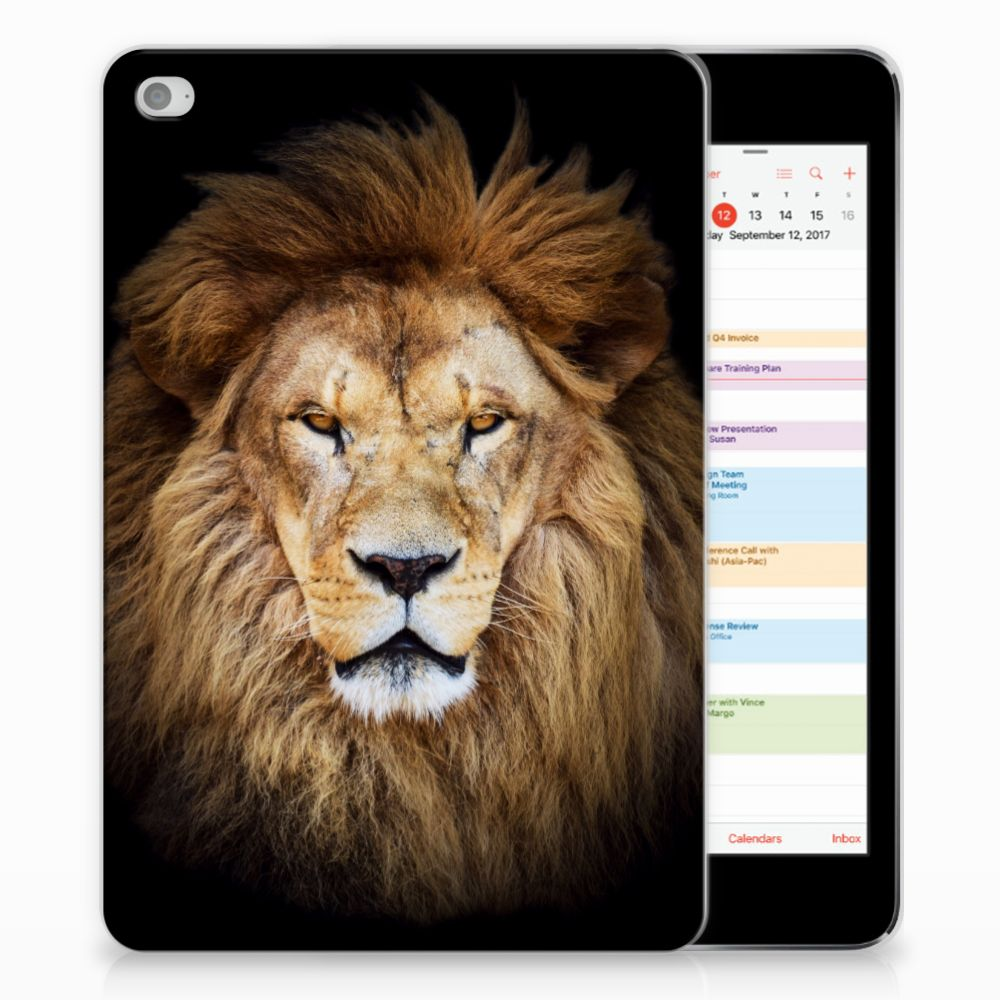 Apple iPad Mini 4 | Mini 5 (2019) Back Case Leeuw
