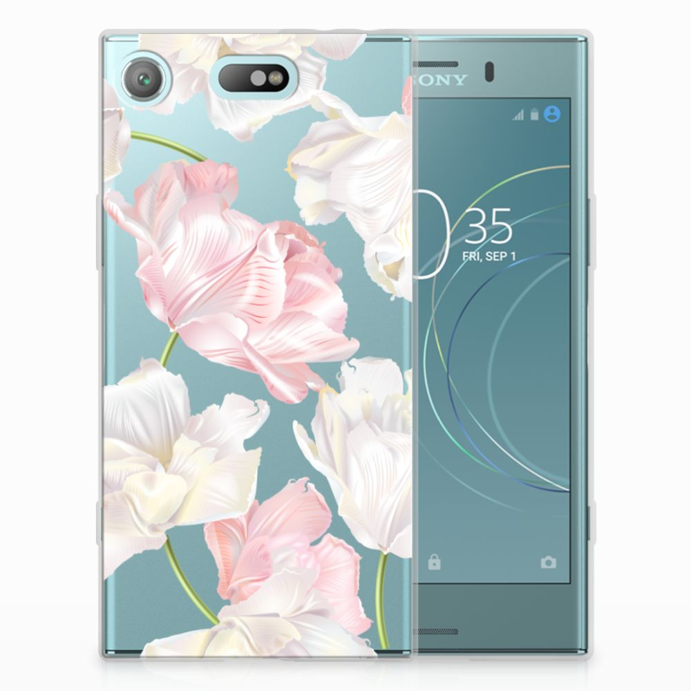 Sony Xperia XZ1 Compact TPU Hoesje Design Lovely Flowers