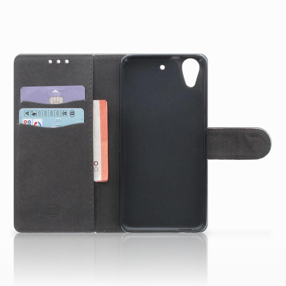 HTC Desire 626 | Desire 626s Telefoonhoesje met Pasjes Tijger