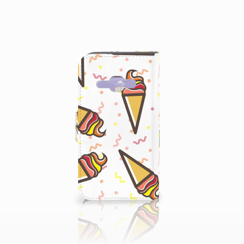 Samsung Galaxy J1 2016 Book Cover Icecream