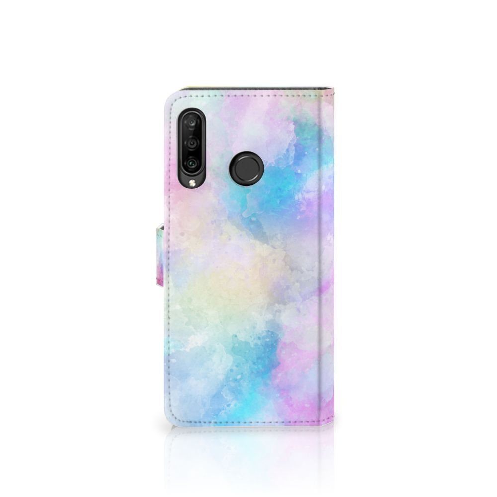 Hoesje Huawei P30 Lite Watercolor Light