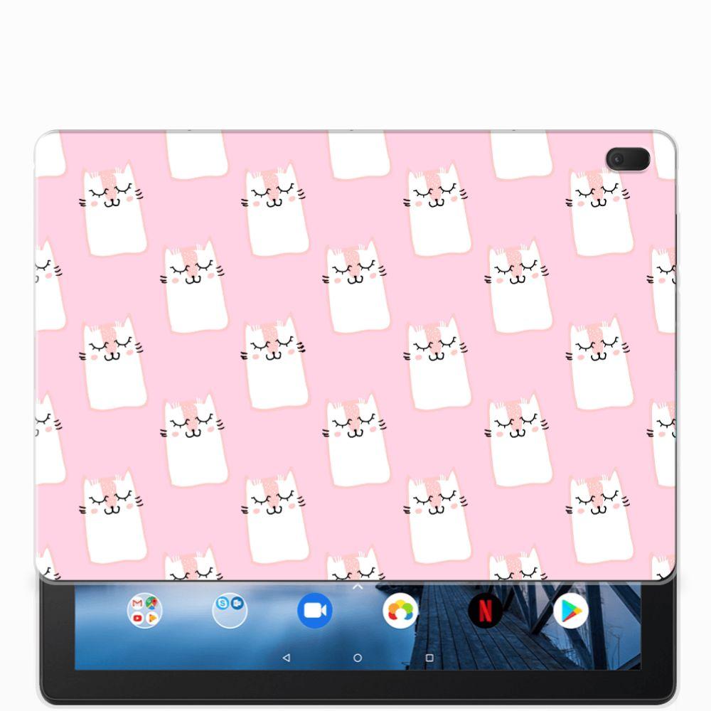 Lenovo Tab E10 Back Case Sleeping Cats