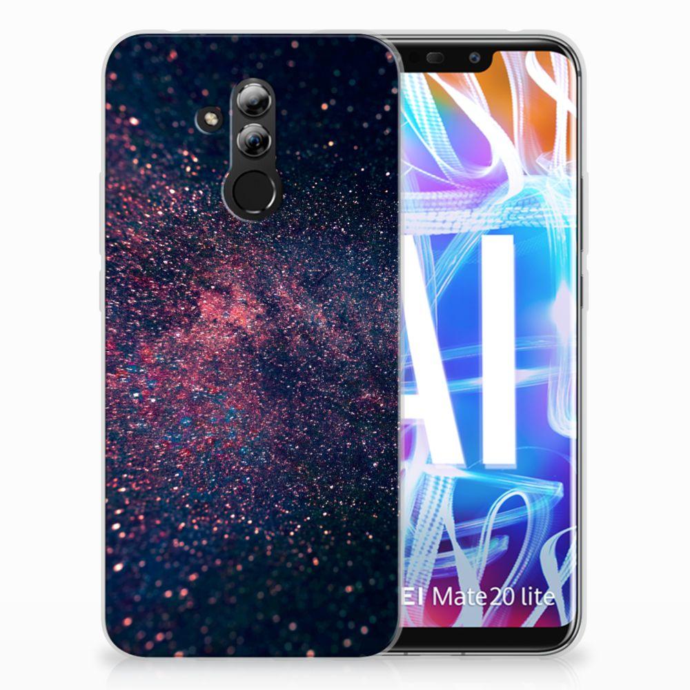Huawei Mate 20 Lite TPU Hoesje Stars