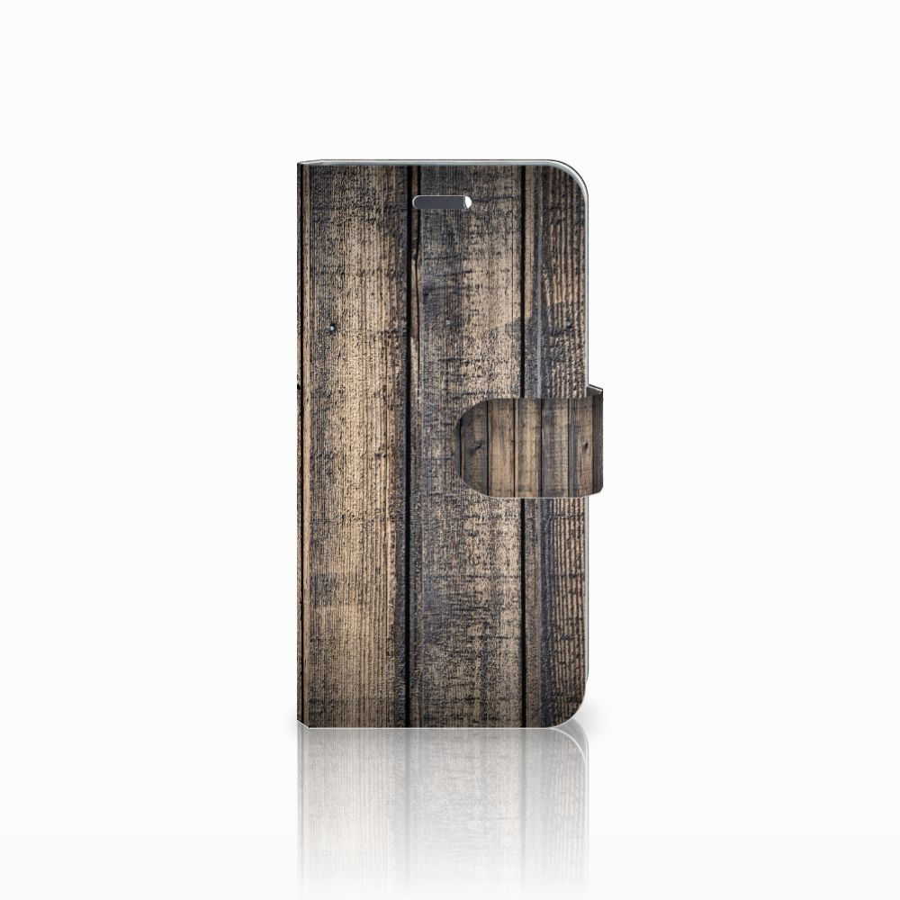 Lenovo Vibe K5 Boekhoesje Design Steigerhout