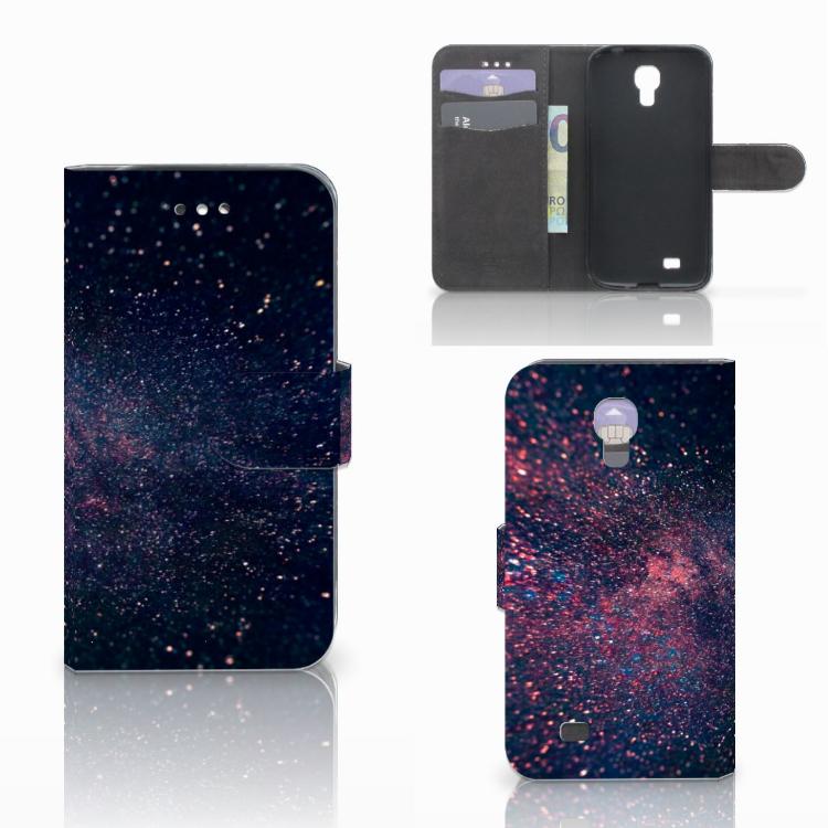 Samsung Galaxy S4 Bookcase Stars