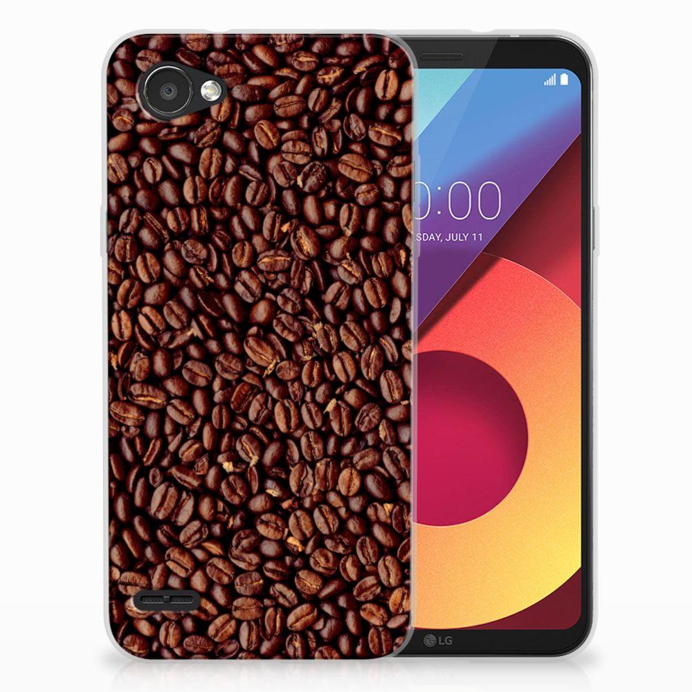 LG Q6 | LG Q6 Plus Siliconen Case Koffiebonen