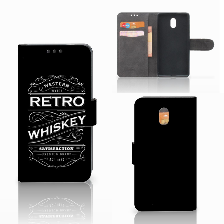 Nokia 3 Book Cover Whiskey