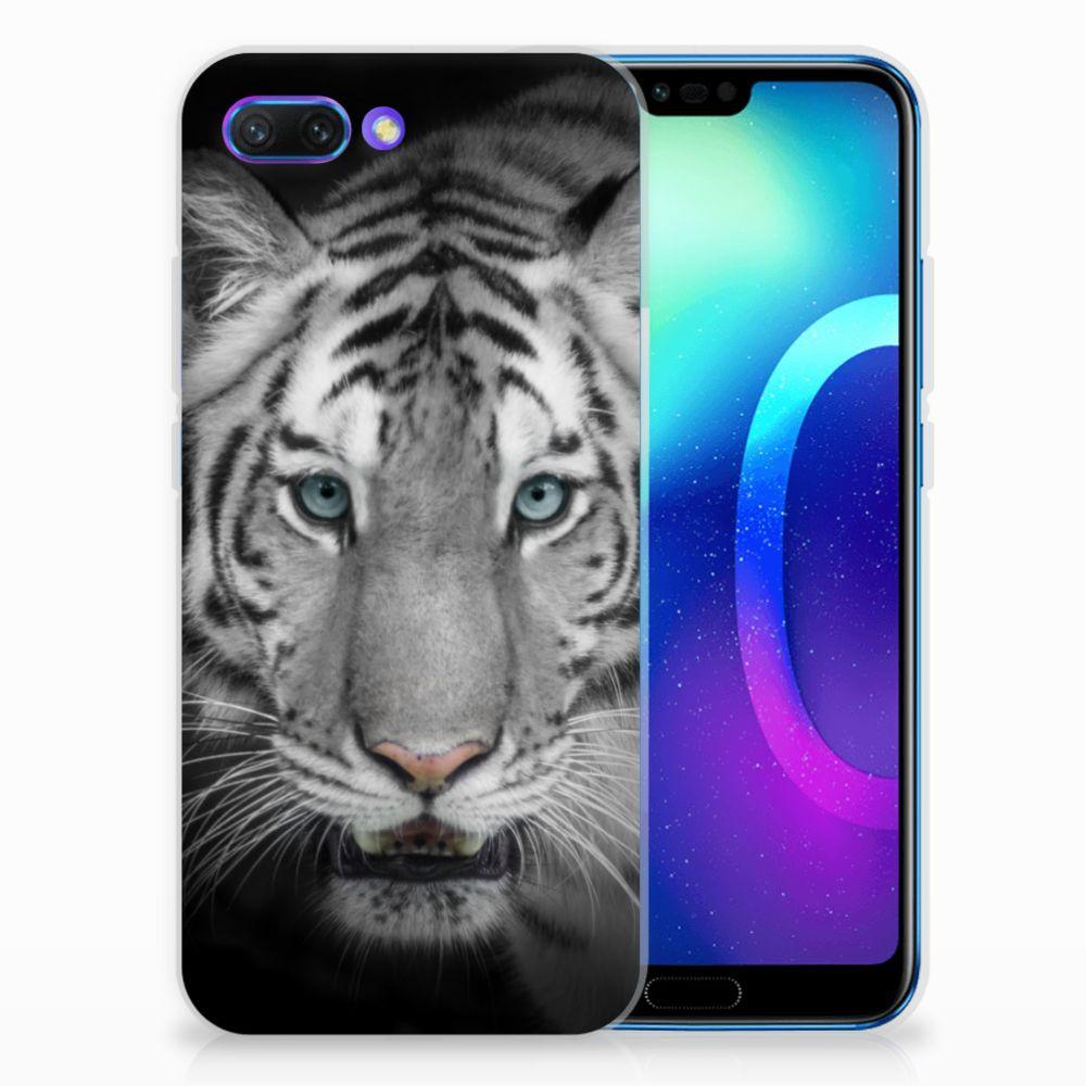 Huawei Honor 10 Uniek TPU Hoesje Tijger