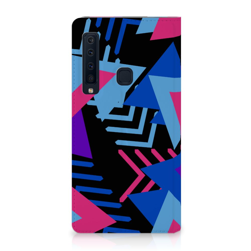 Samsung Galaxy A9 (2018) Stand Case Funky Triangle