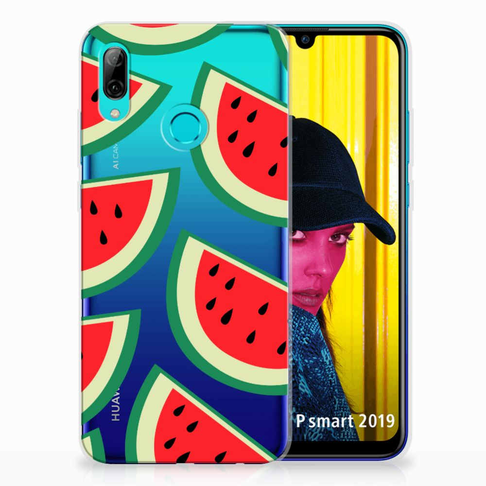 Huawei P Smart 2019 Siliconen Case Watermelons