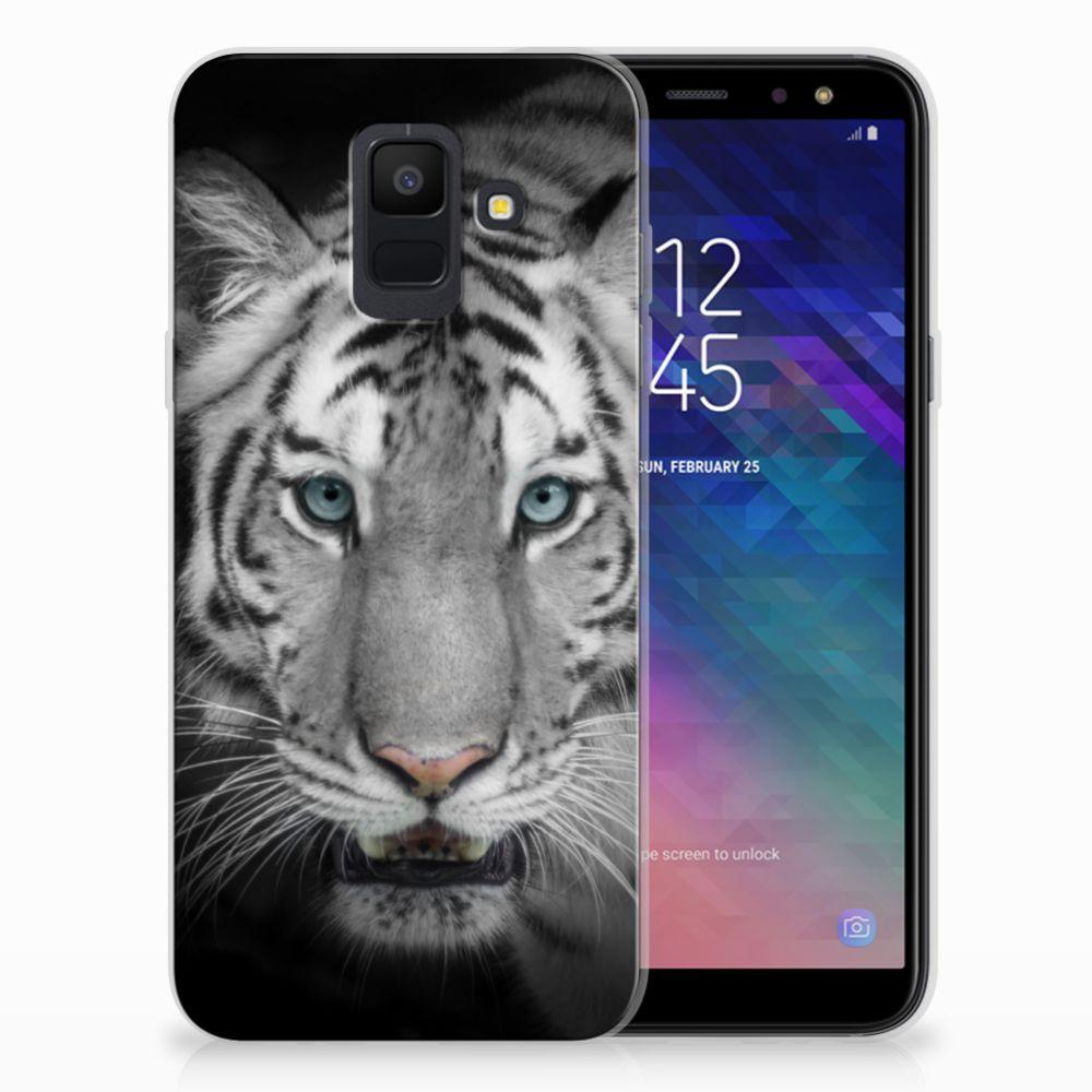 Samsung Galaxy A6 (2018) Uniek TPU Hoesje Tijger