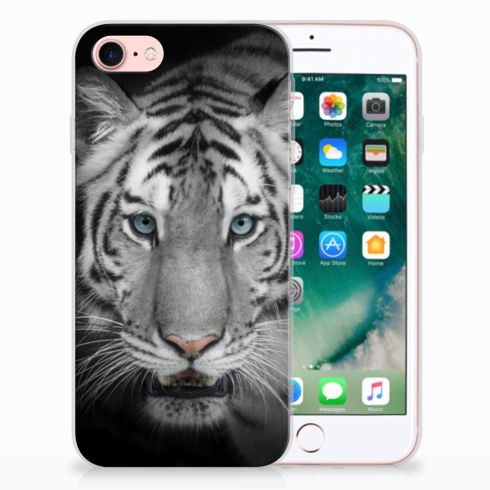 Apple iPhone 7 | 8 Uniek TPU Hoesje Tijger
