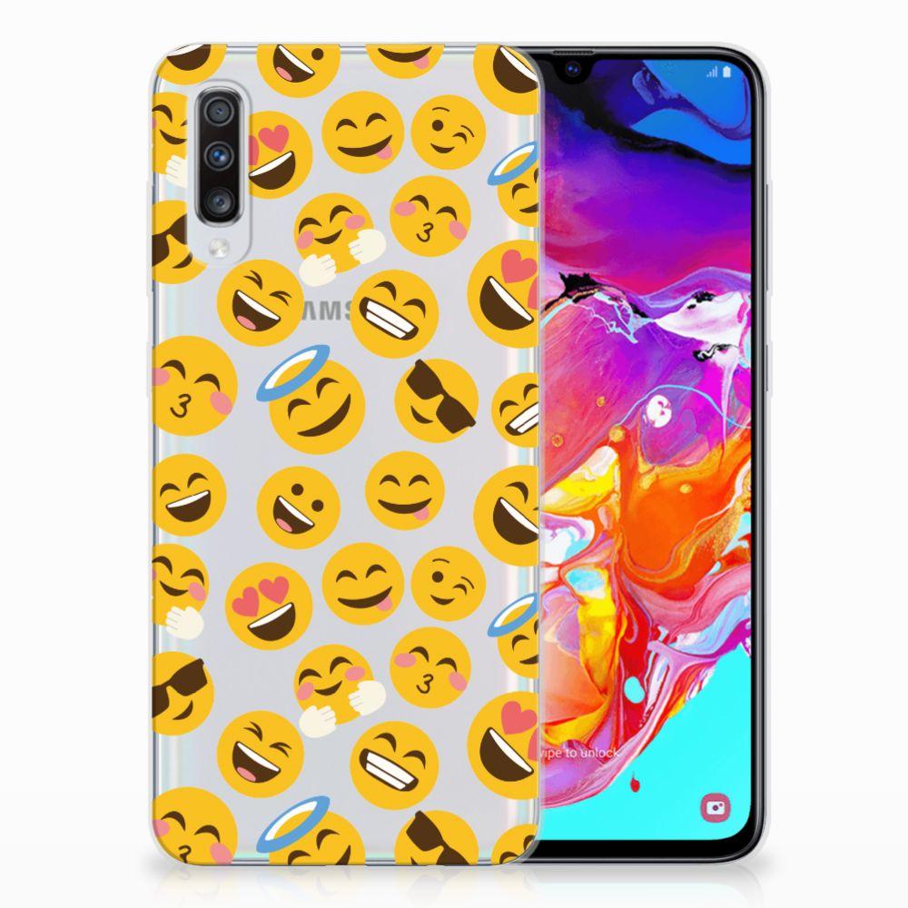 Samsung Galaxy A70 TPU bumper Emoji