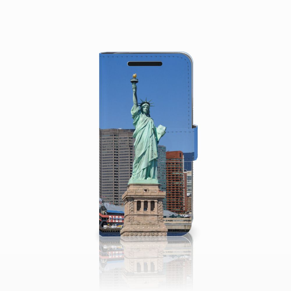 HTC One M9 Uniek Boekhoesje Vrijheidsbeeld
