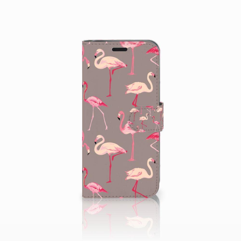 Acer Liquid Z630 | Z630s Uniek Boekhoesje Flamingo