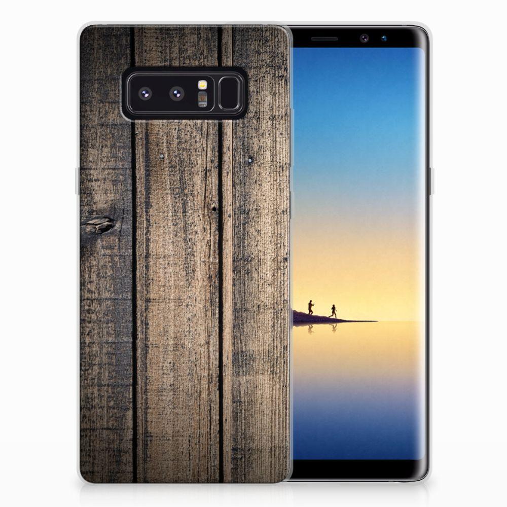 Samsung Galaxy Note 8 Bumper Hoesje Steigerhout