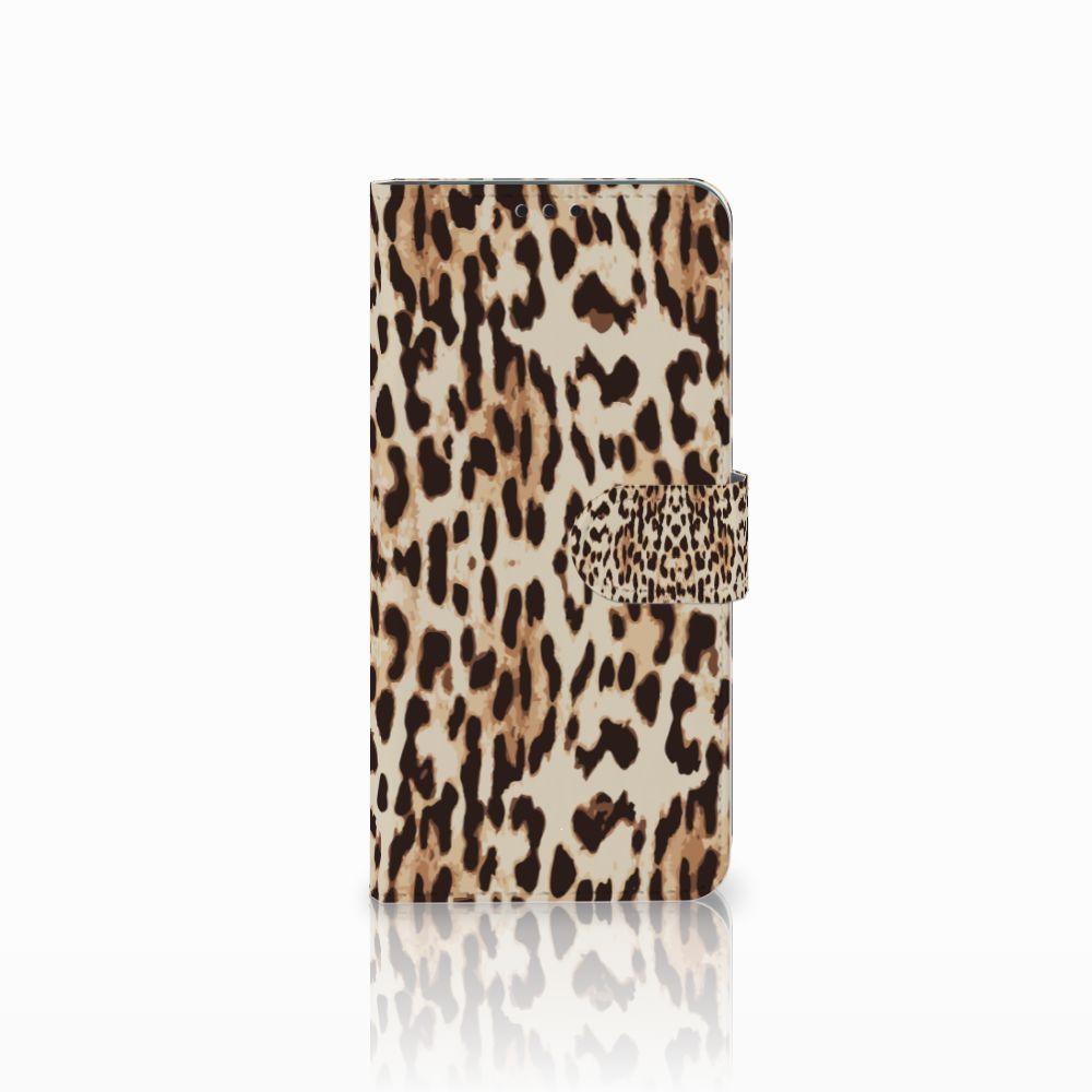 Huawei P Smart Plus Uniek Boekhoesje Leopard