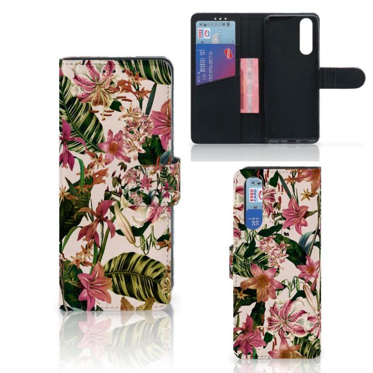 Sony Xperia 5 Hoesje Flowers