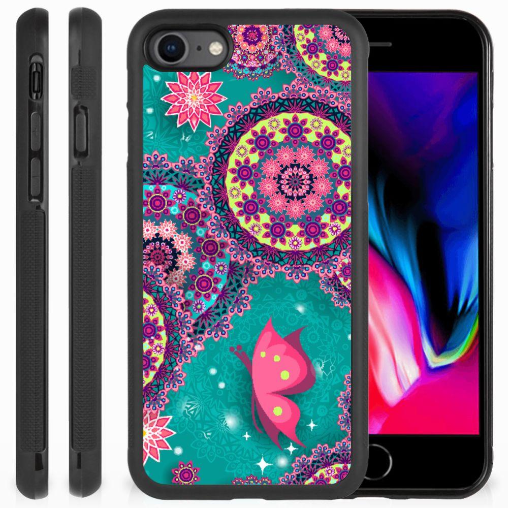 Apple iPhone 7 | 8 Case Cirkels en Vlinders