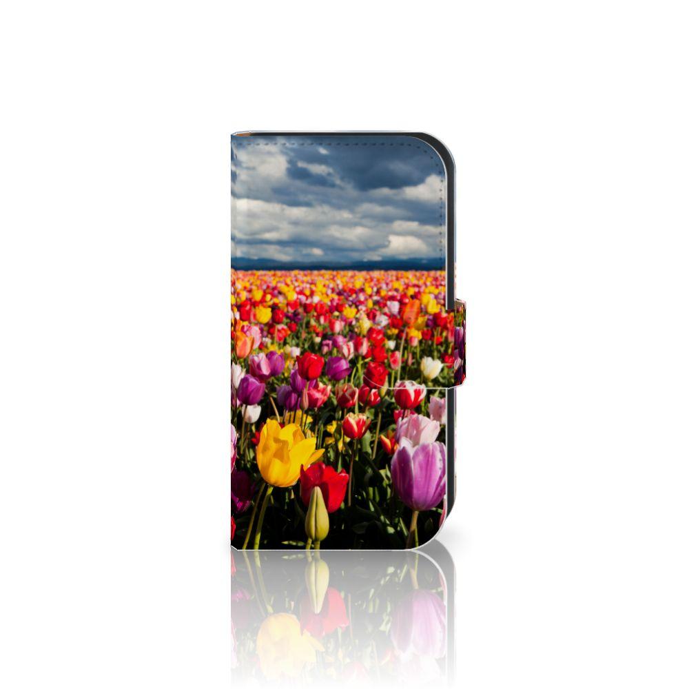 Samsung Galaxy Ace 4 4G (G357-FZ) Uniek Boekhoesje Tulpen