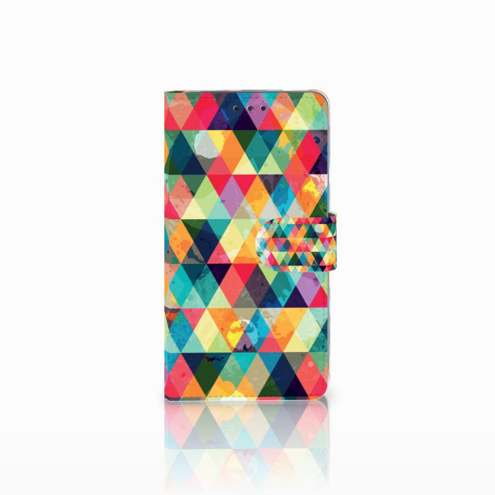 LG G4 Uniek Boekhoesje Geruit