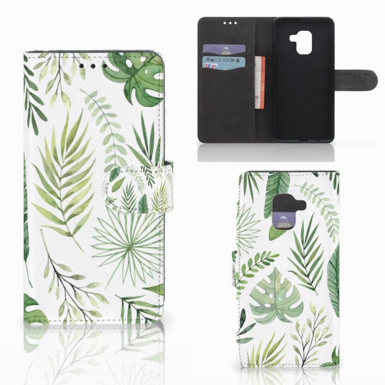 Samsung Galaxy A8 2018 Hoesje Leaves