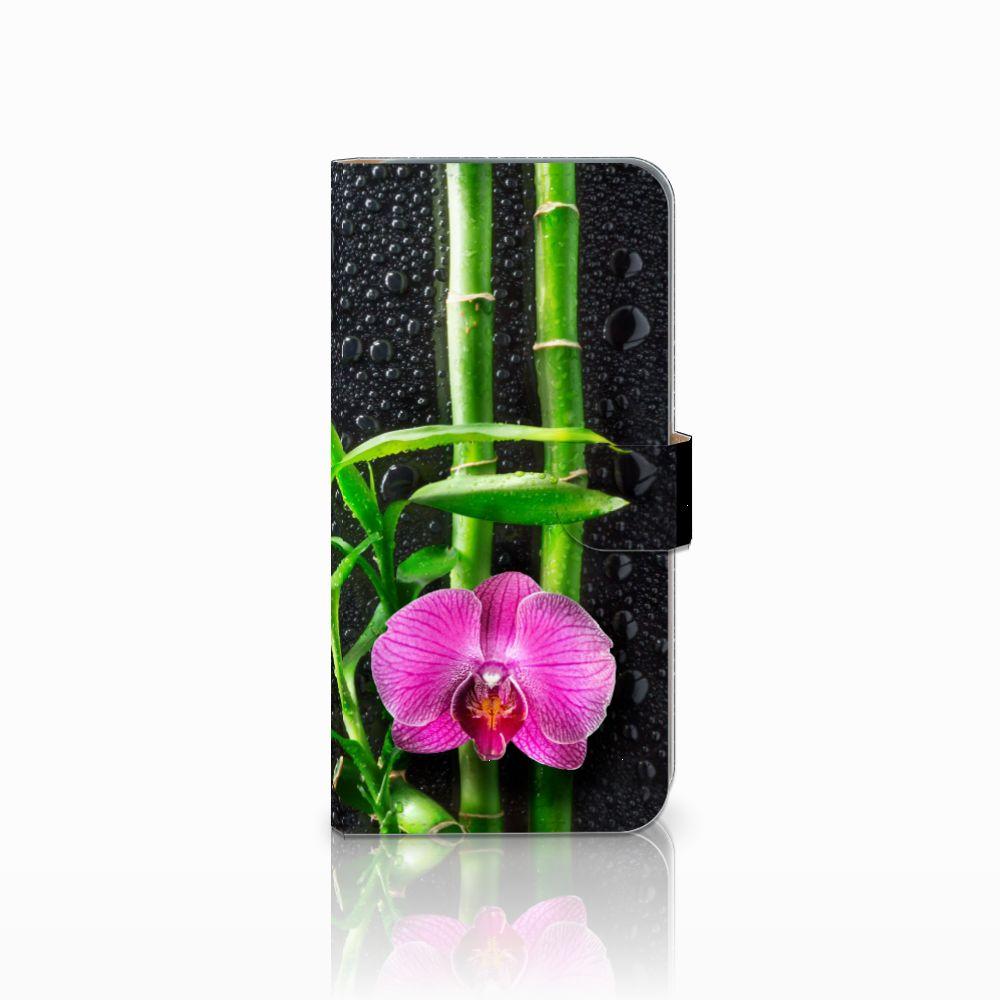 HTC Desire 10 Pro Boekhoesje Design Orchidee