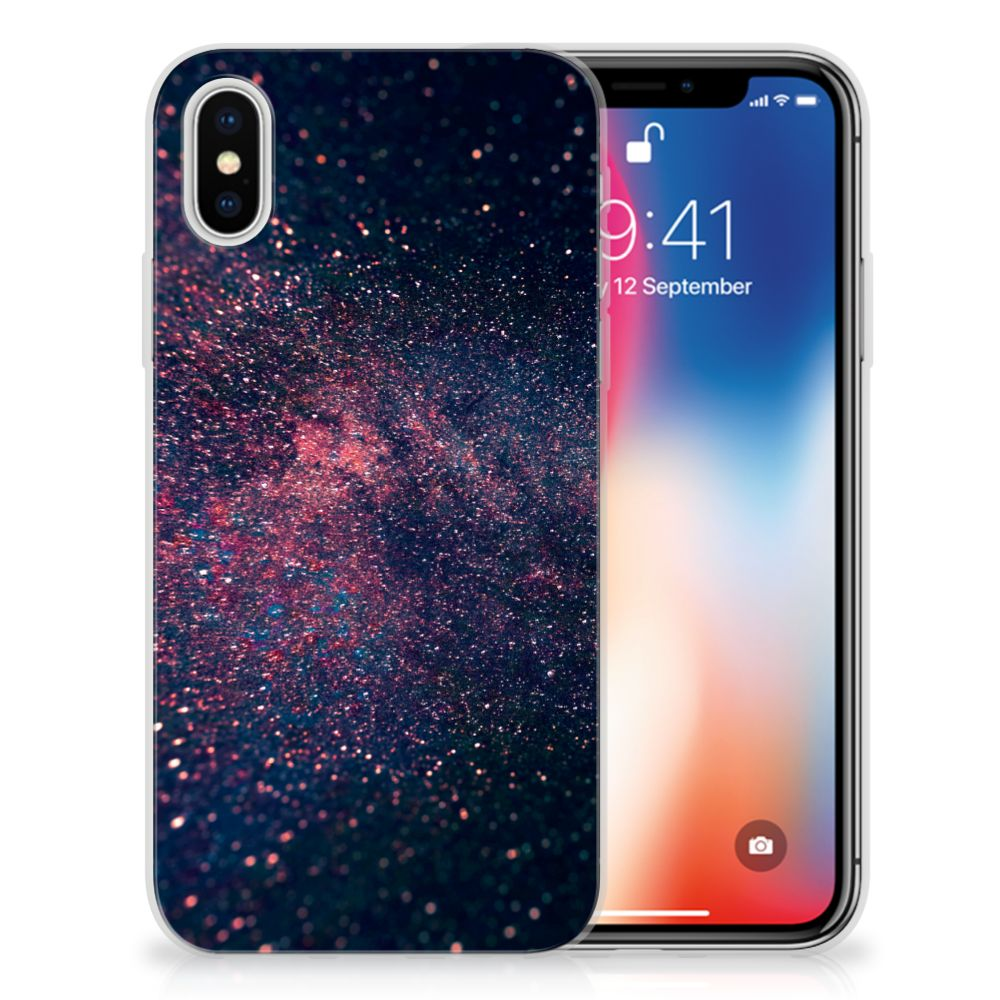 Apple iPhone X | Xs TPU Hoesje Design Stars