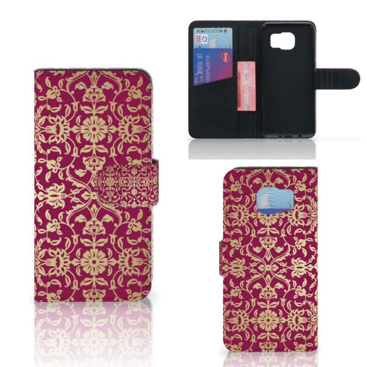 Wallet Case Samsung Galaxy S6   S6 Duos Barok Pink