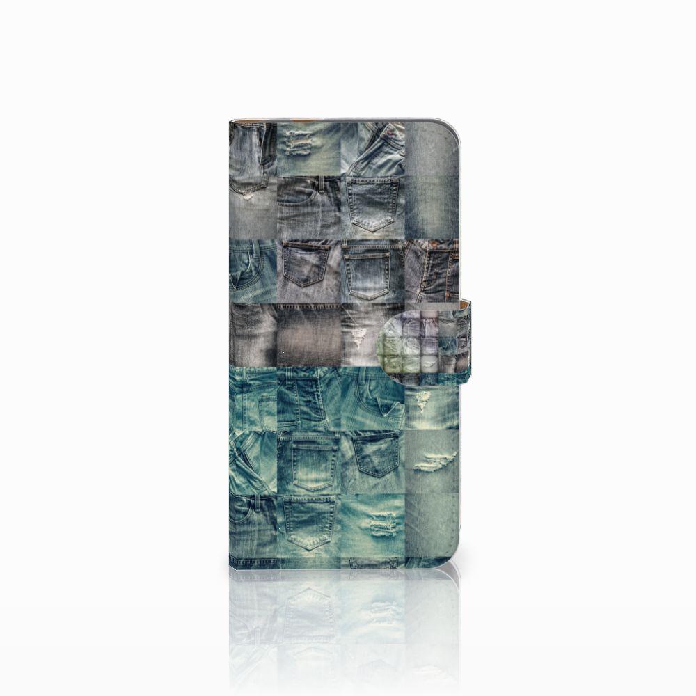 Huawei Nova Plus Uniek Boekhoesje Spijkerbroeken