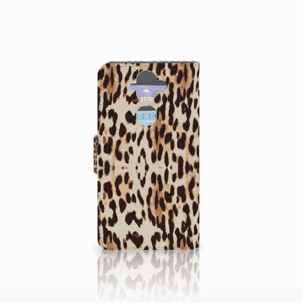 Nokia 8 Sirocco   Nokia 9 Telefoonhoesje met Pasjes Leopard