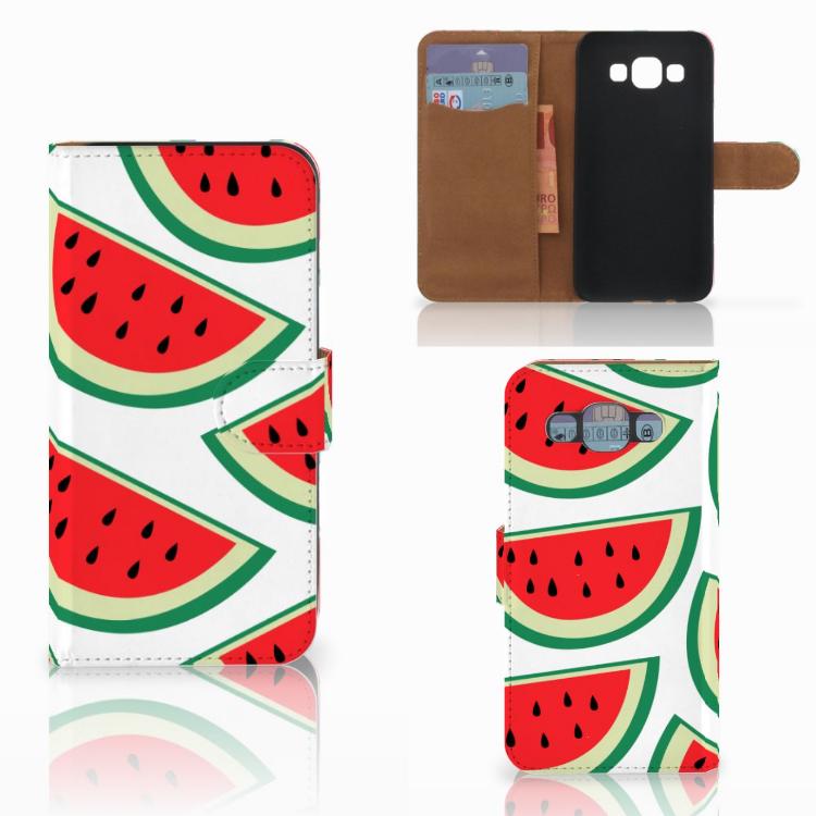 Samsung Galaxy E5 Book Cover Watermelons
