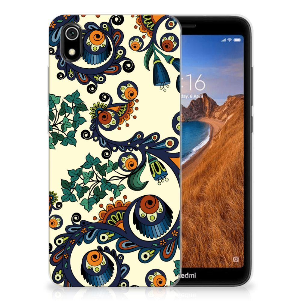 Siliconen Hoesje Xiaomi Redmi 7A Barok Flower