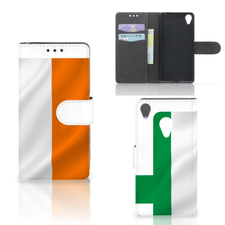 Sony Xperia X Bookstyle Case Ierland