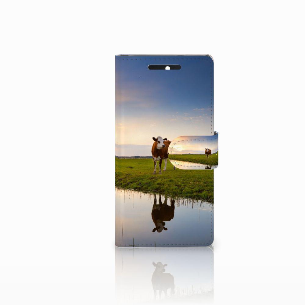 HTC Desire 628 Boekhoesje Design Koe