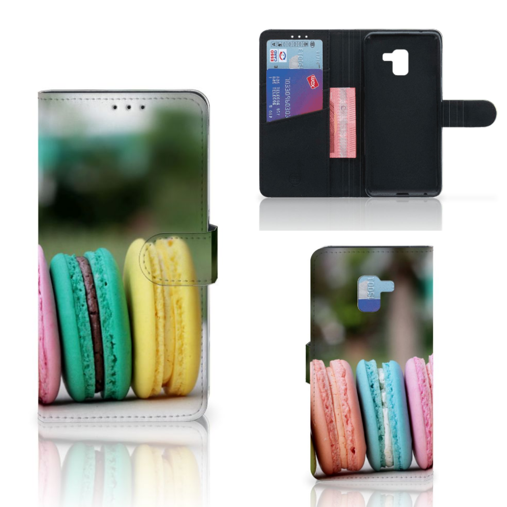 Samsung Galaxy A8 Plus (2018) Book Cover Macarons