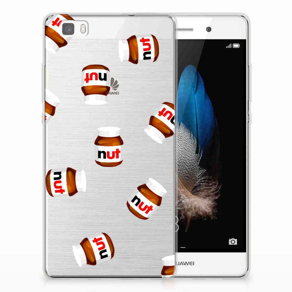Huawei Ascend P8 Lite Uniek TPU Hoesje Nut Jar