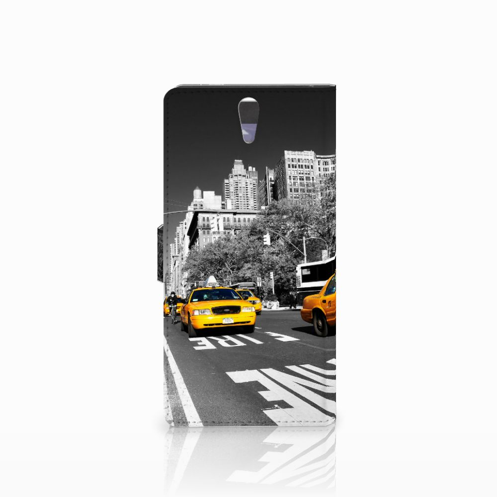 Sony Xperia C5 Ultra Flip Cover New York Taxi