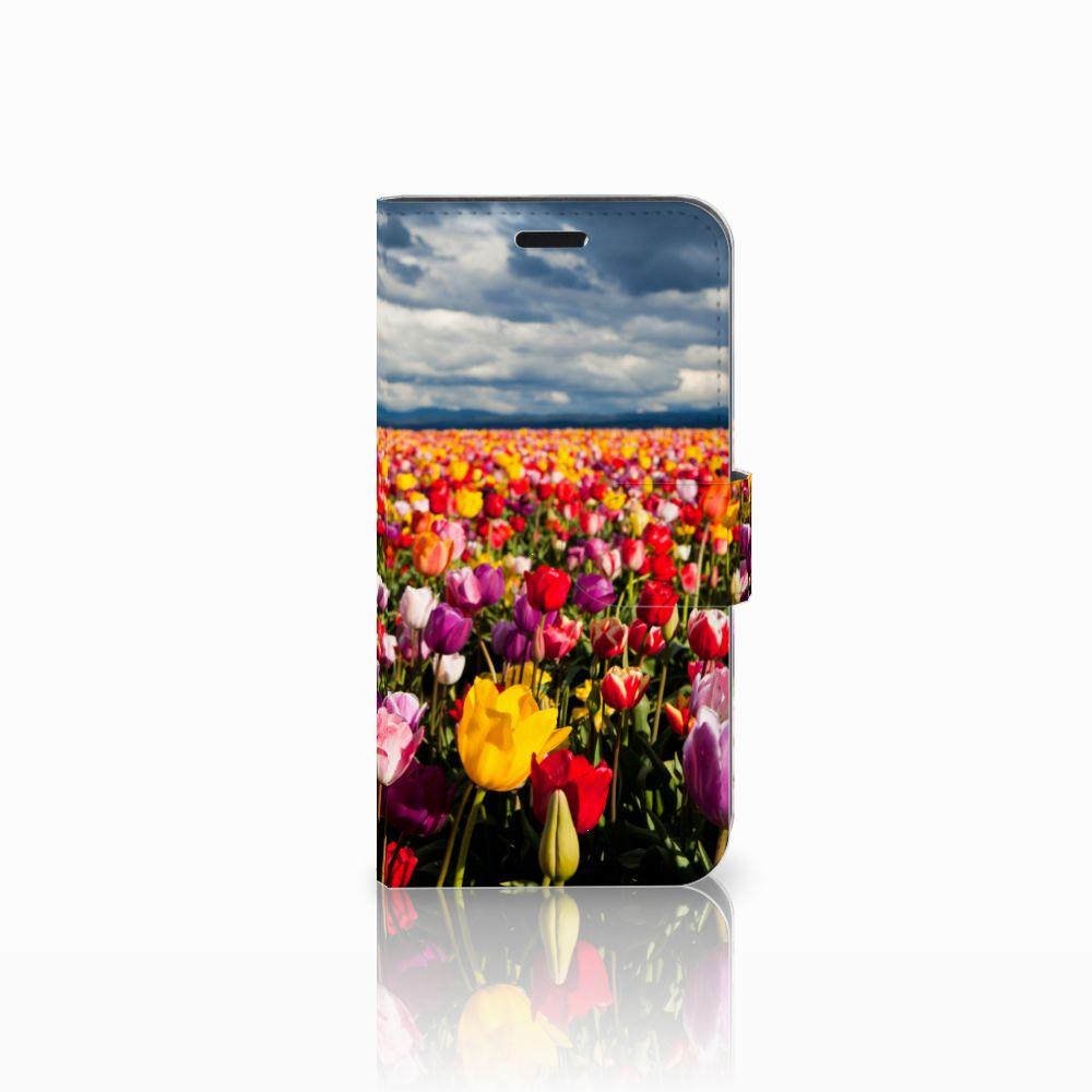 Huawei Nova Uniek Boekhoesje Tulpen