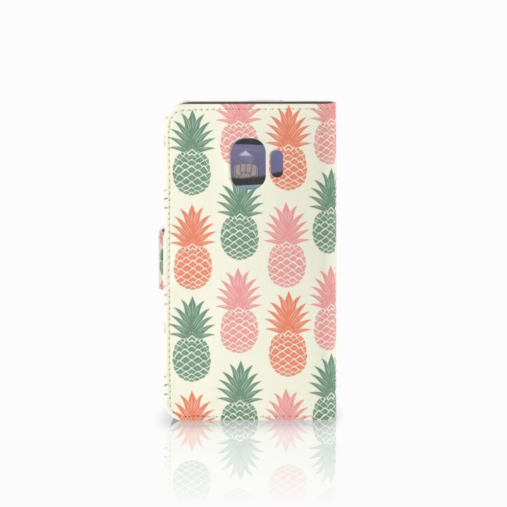 Samsung Galaxy J2 Pro 2018 Book Cover Ananas
