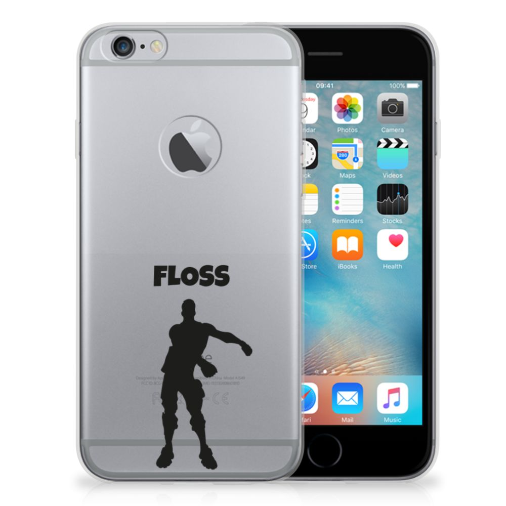 Apple iPhone 6 Plus | 6s Plus Telefoonhoesje met Naam Floss
