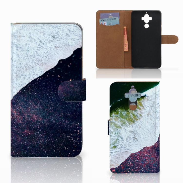 Huawei Mate 9 Bookcase Sea in Space