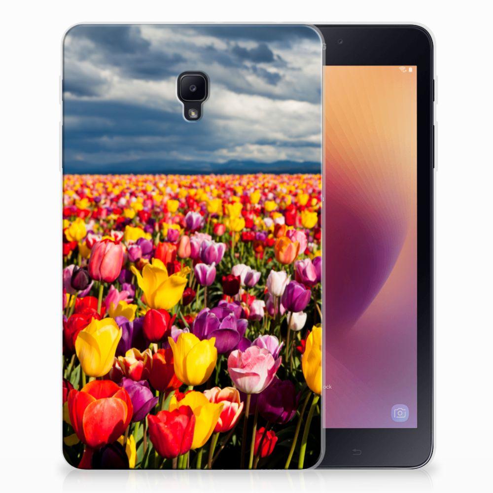 Samsung Galaxy Tab A 8.0 (2017) Uniek Tablethoesje Tulpen