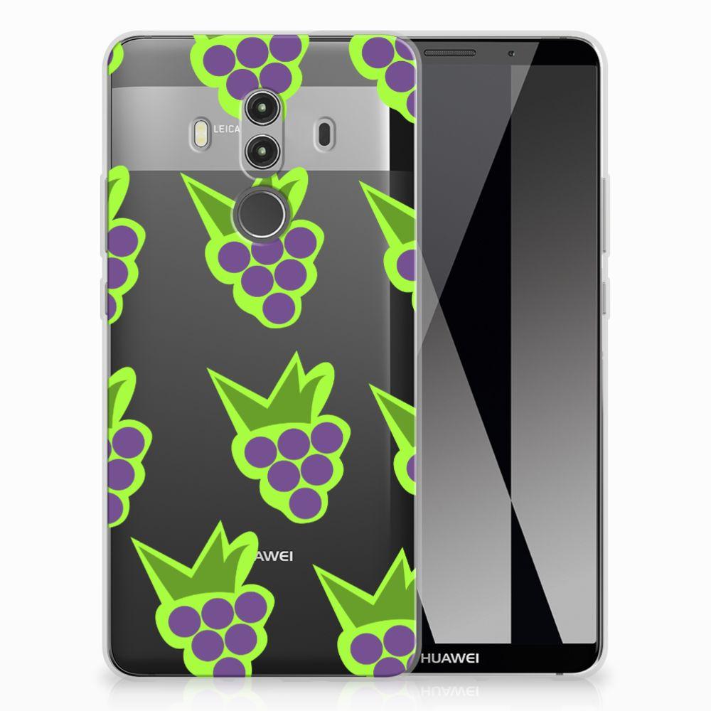 Huawei Mate 10 Pro Uniek TPU Hoesje Druiven