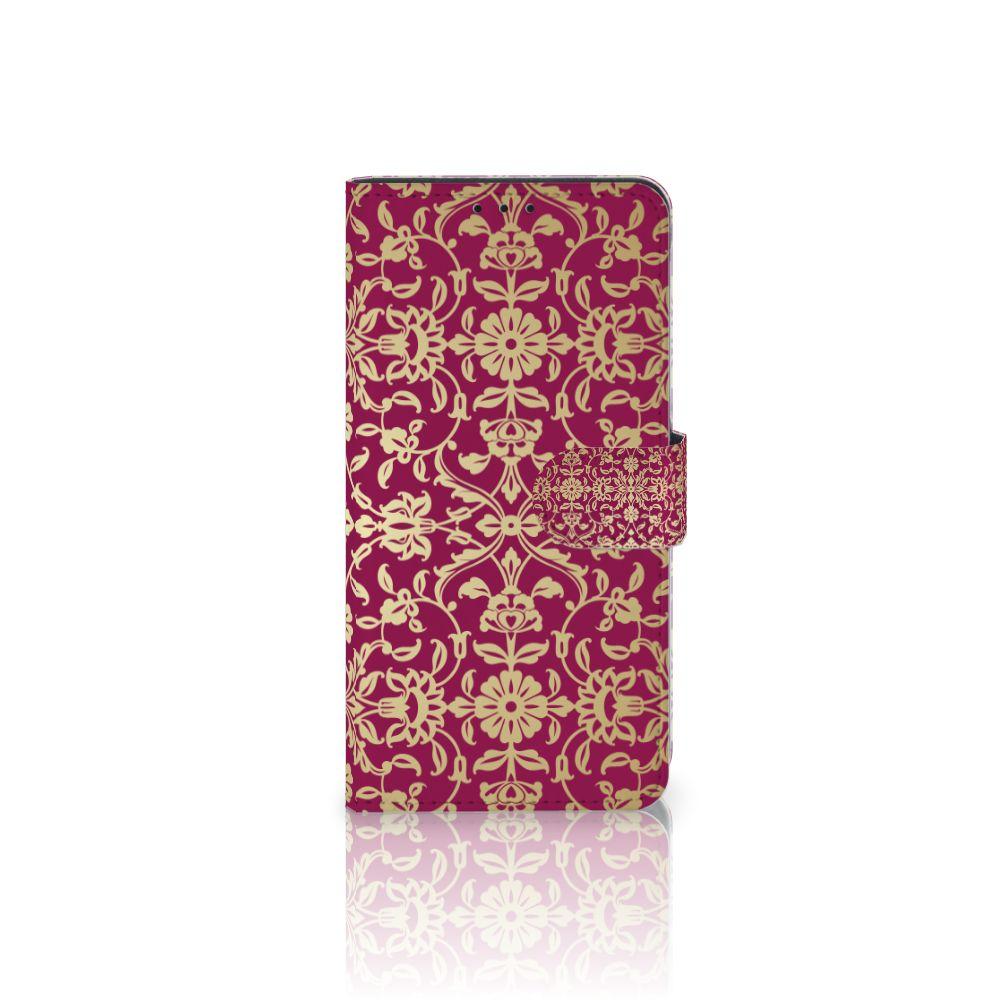 Wallet Case Samsung Galaxy J4 Plus (2018) Barok Pink