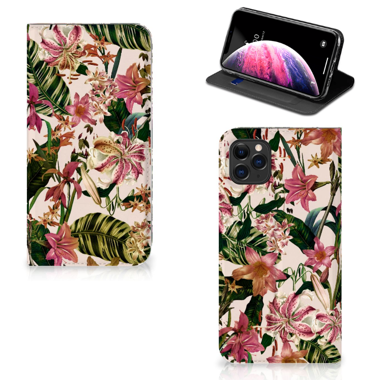 Apple iPhone 11 Pro Max Smart Cover Flowers