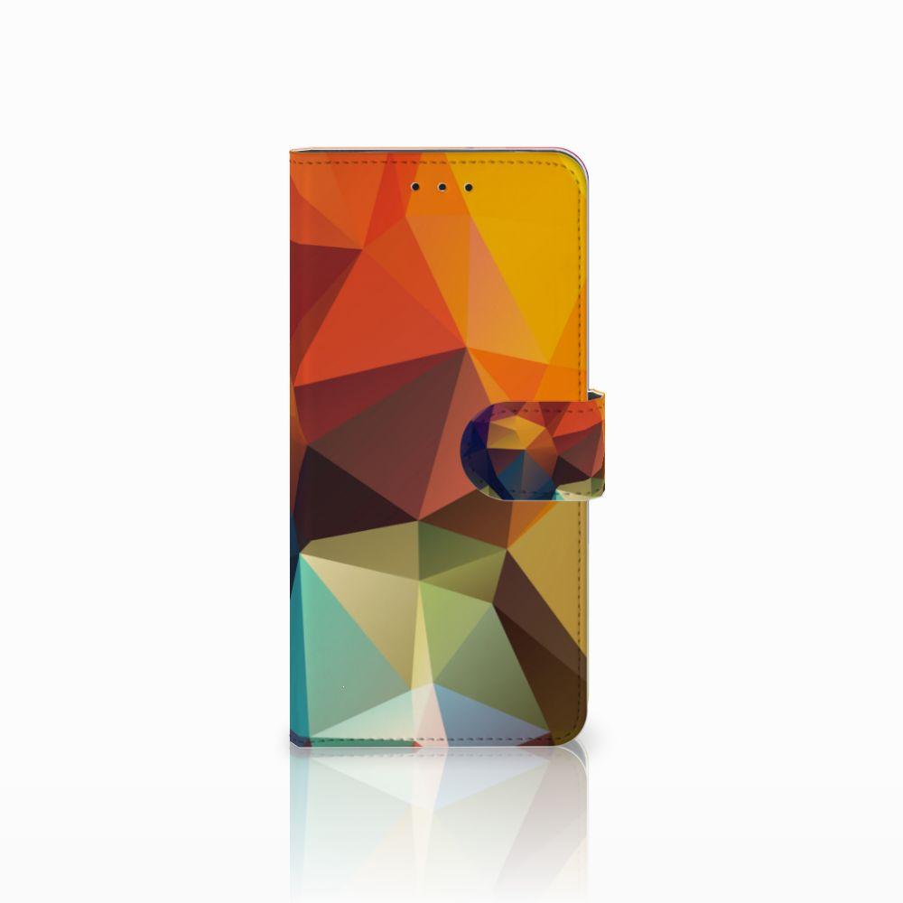 Motorola Moto E5 Plus Bookcase Polygon Color