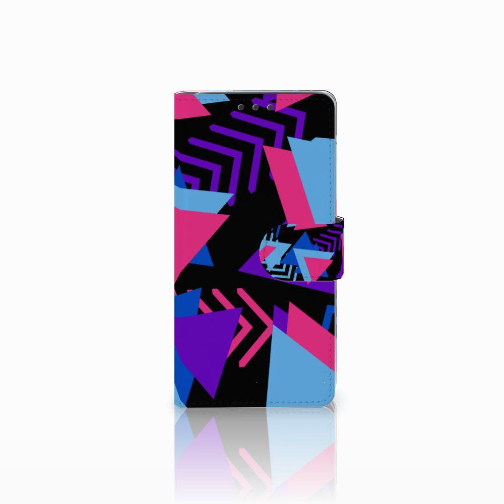HTC Desire 626   Desire 626s Boekhoesje Design Funky Triangle