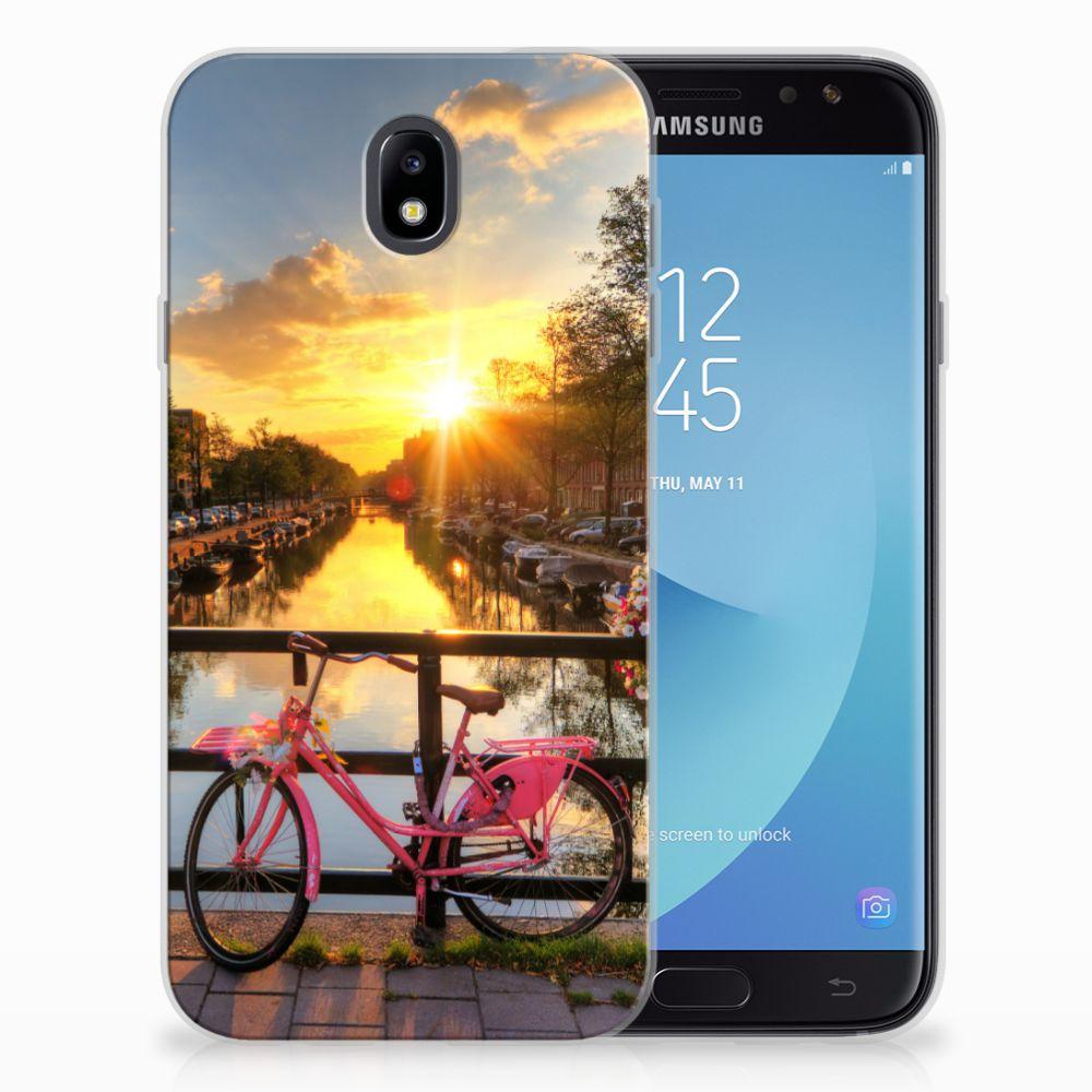 Samsung Galaxy J7 2017 | J7 Pro Uniek TPU Hoesje Amsterdamse Grachten