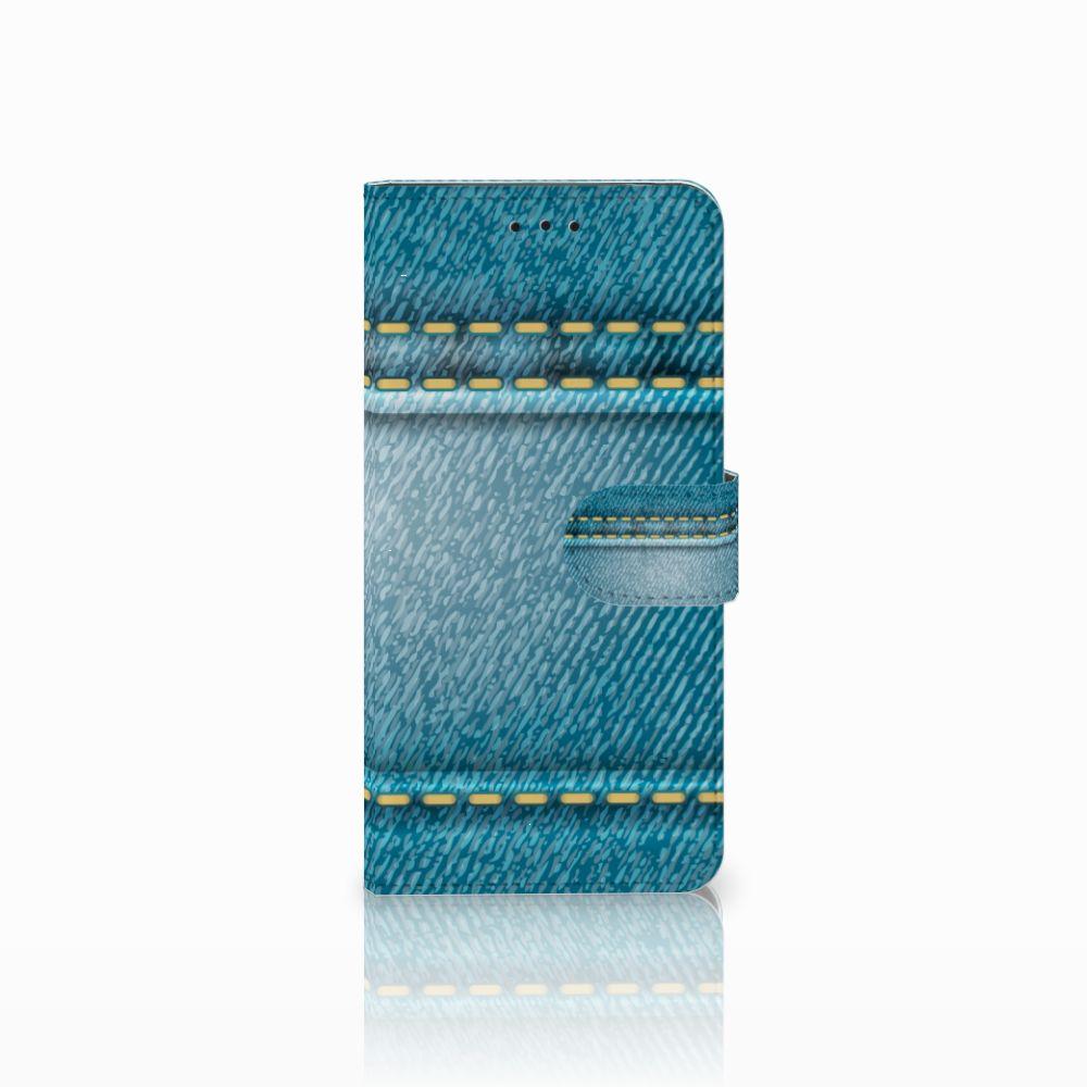 Motorola Moto E5 Boekhoesje Design Jeans